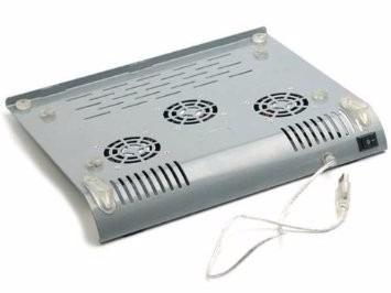 vendo notebook cooler pad fans aluminium ventilado a 32soles
