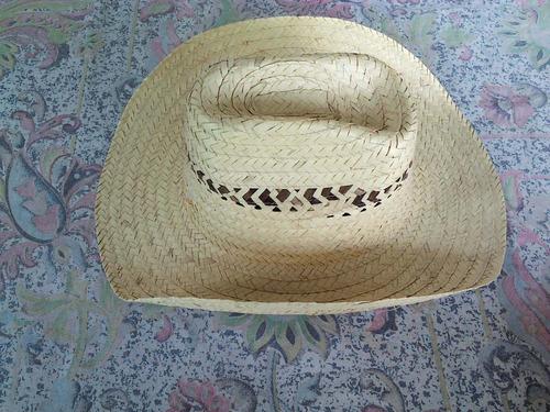 vendo nuevo sombrero vaquero de paja