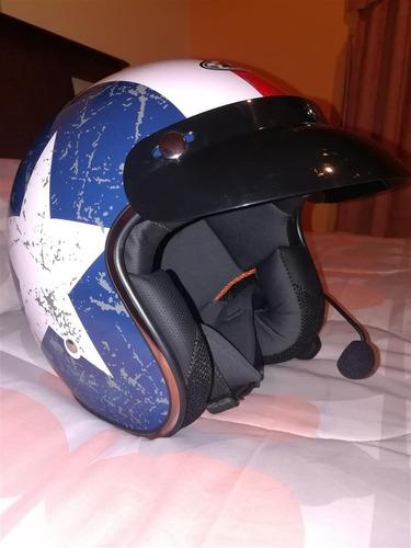vendo o cambio 2 cascos + intercomunicadores bluetooth