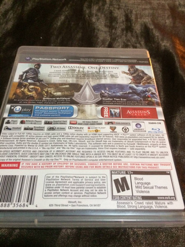 vendo o cambio assassins creed revelations ps3