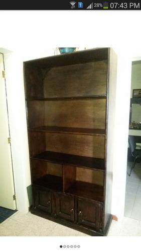 vendo o cambio biblioteca multiusoen madera pura