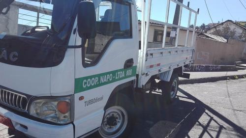 vendo o cambio camion  jac por vehiculo de similar valor.