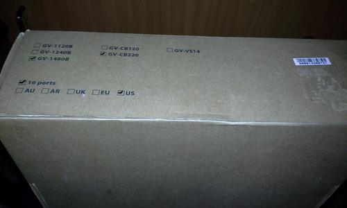 vendo o cambio geovision gv-1480 16 cámaras original 480fps
