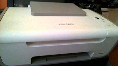 vendo o cambio impresora lexmark multifuncion