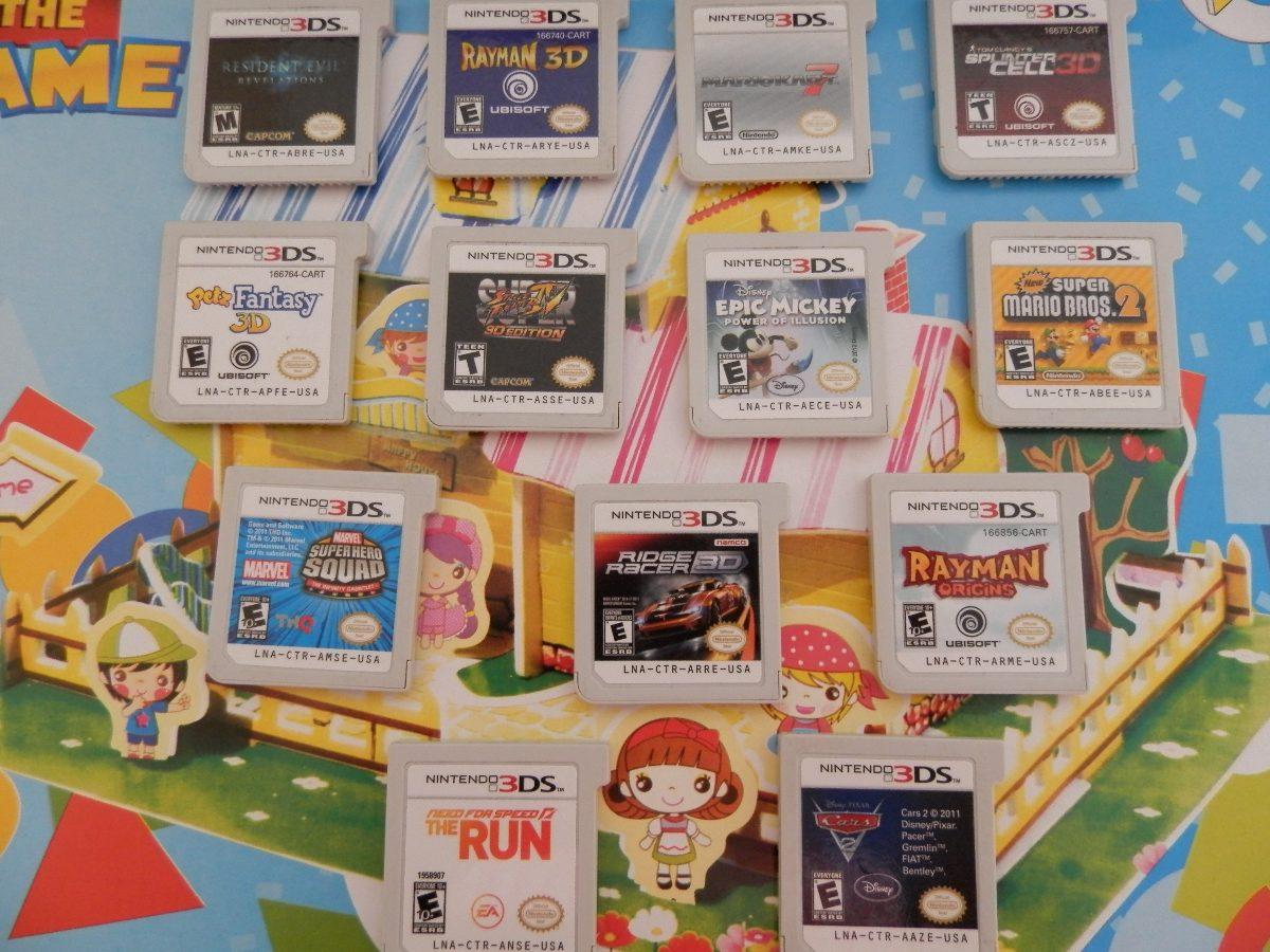 Vendo O Cambio Juegos Nintendo 3ds U S 40 00 En Mercado Libre