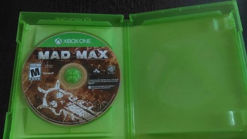 vendo o cambio mad max para xbox one usado