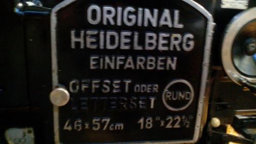 vendo o cambio maquina heidelberg por carro