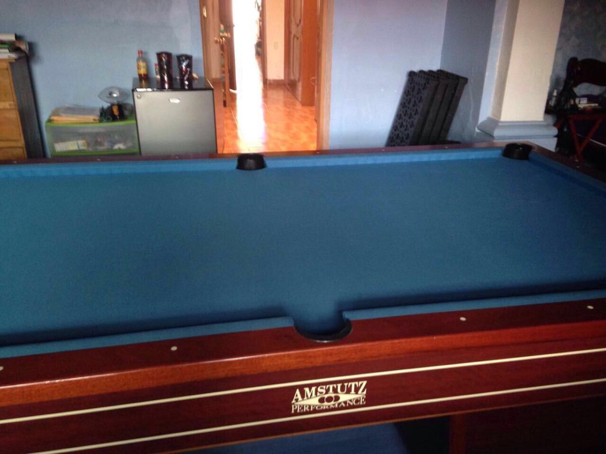 Vendo o cambio mesa de billar de pool amstutz 35 en mercado libre - Vendo mesa billar ...