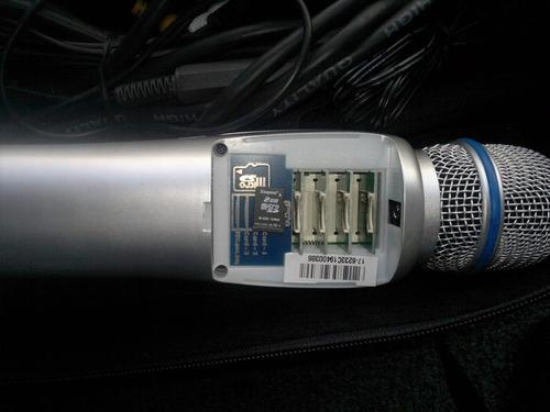 vendo o cambio microfono karaoke memorias micro sd