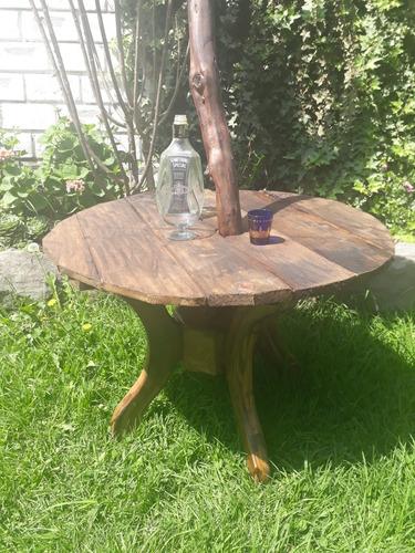 vendo o cambio perchero con mesa rustica