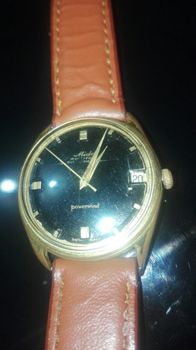 vendo o cambio reloj automatico mido powerwind vintage