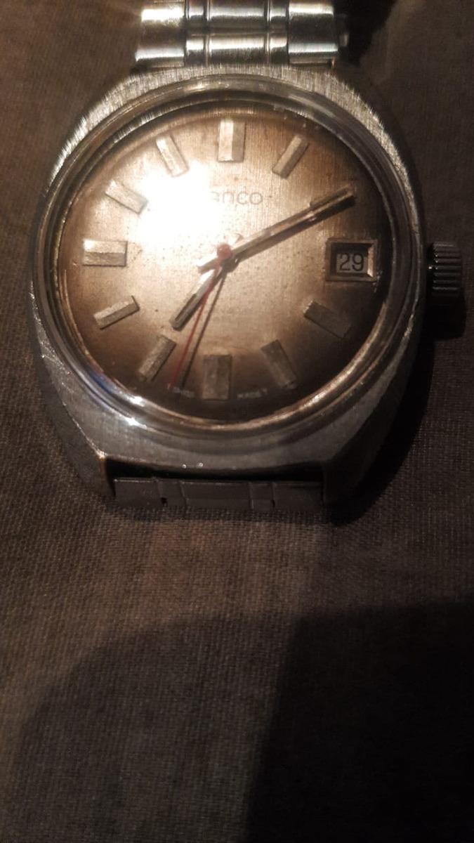 81b9b3a0a7a5 vendo o cambio reloj suizo marca lanco de cuerda antiguo. Cargando zoom.