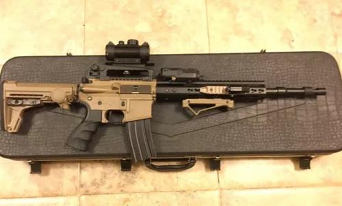 vendo o cambio  replica airsoft rifle m4 custom coleccion