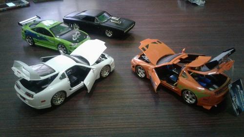 vendo o permuto autos de rapido y furioso,1:24,c/u