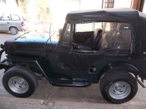 vendo o permuto jeep willys año 1952. excelente estado