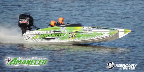 vendo o permuto lancha catamaran skater mercury 250hp