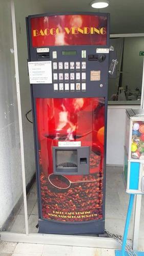 vendo o permuto maquina dispensadora de bebidas calientes