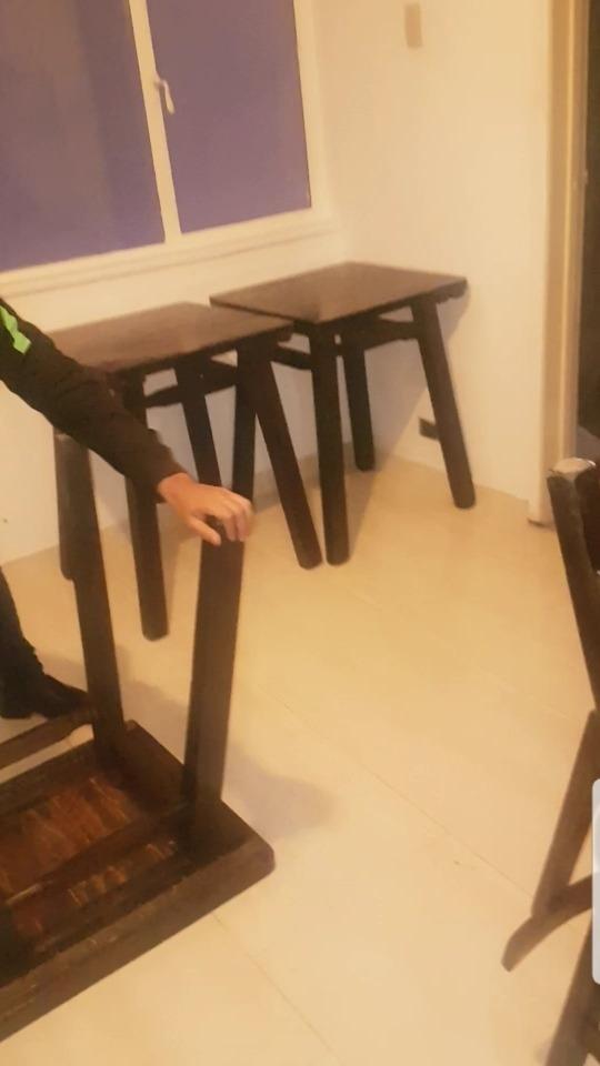 vendo o permuto muebles para negocio 20 mesas con sus sillas