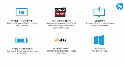 vendo o permuto note gamer hp 14/ core i3 / 4 gb / video 2gb