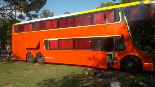 vendo o permuto omnibus doble piso habilitado
