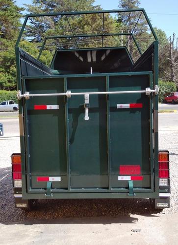 vendo o permuto trailer para caballos 0 km.