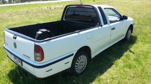 vendo o permuto volkswagen saveiro diesel 1.9 año 2005 aacc