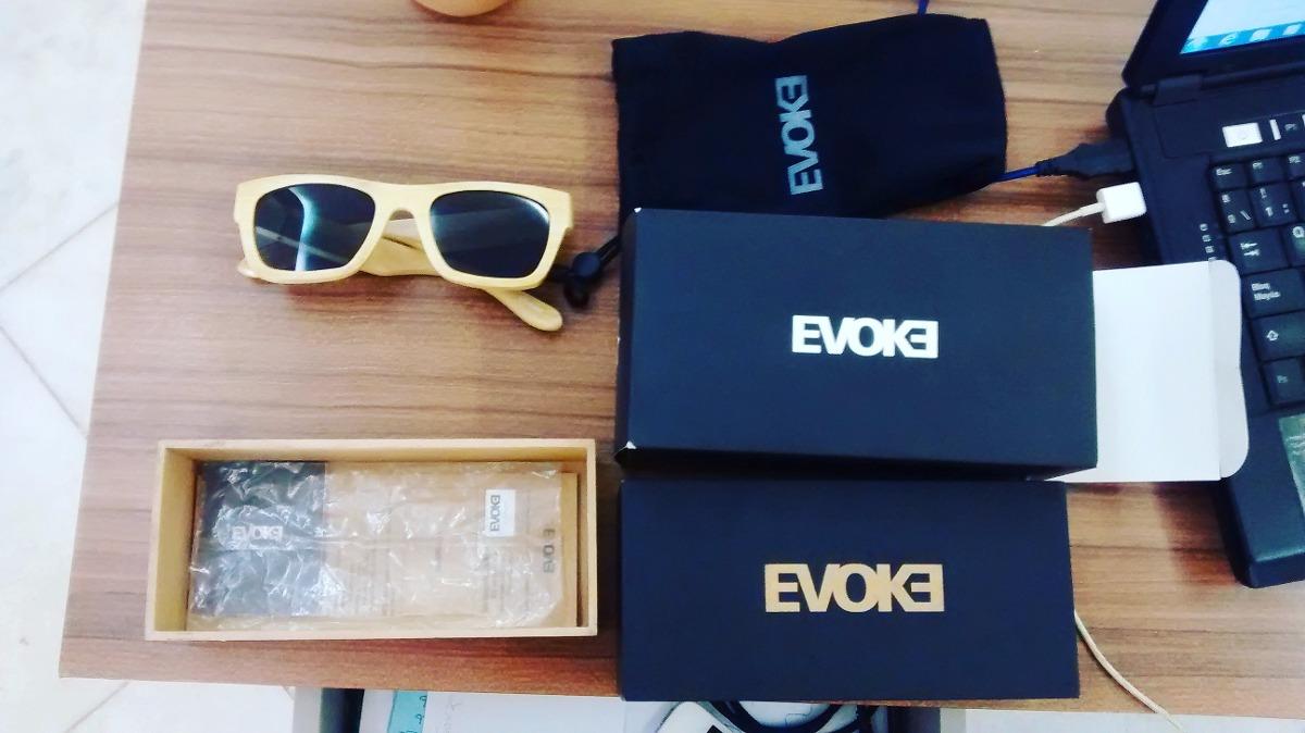 356595fd9 Vendo Óculos Evoke Wood Series 02 Bamboo - R$ 400,00 em Mercado Livre