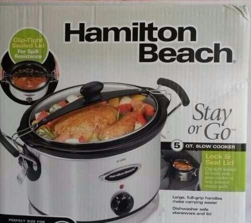 vendo olla hamilton beach nueva en su caja 50$ verdes