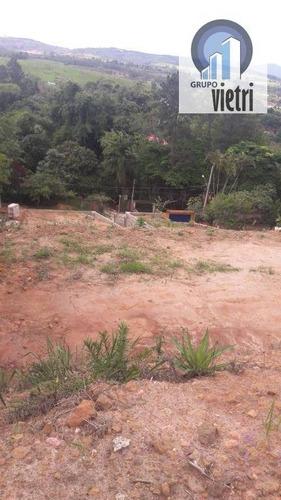 vendo ótimo terreno, guararema, chácara guanabara - te0558