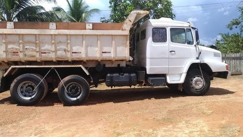vendo ou troco caçamba truck ls 1630