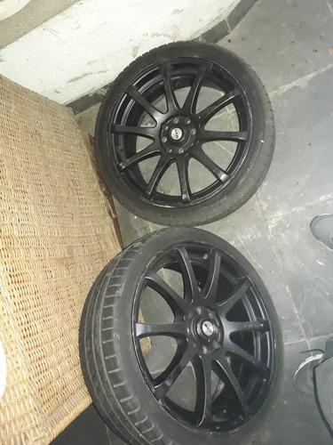 vendo ou troco rodas 17
