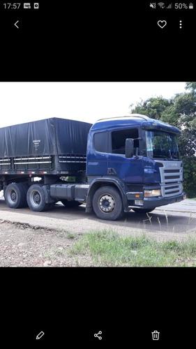 vendo ou troco scania 124 2008 e 9 eixo com pneus