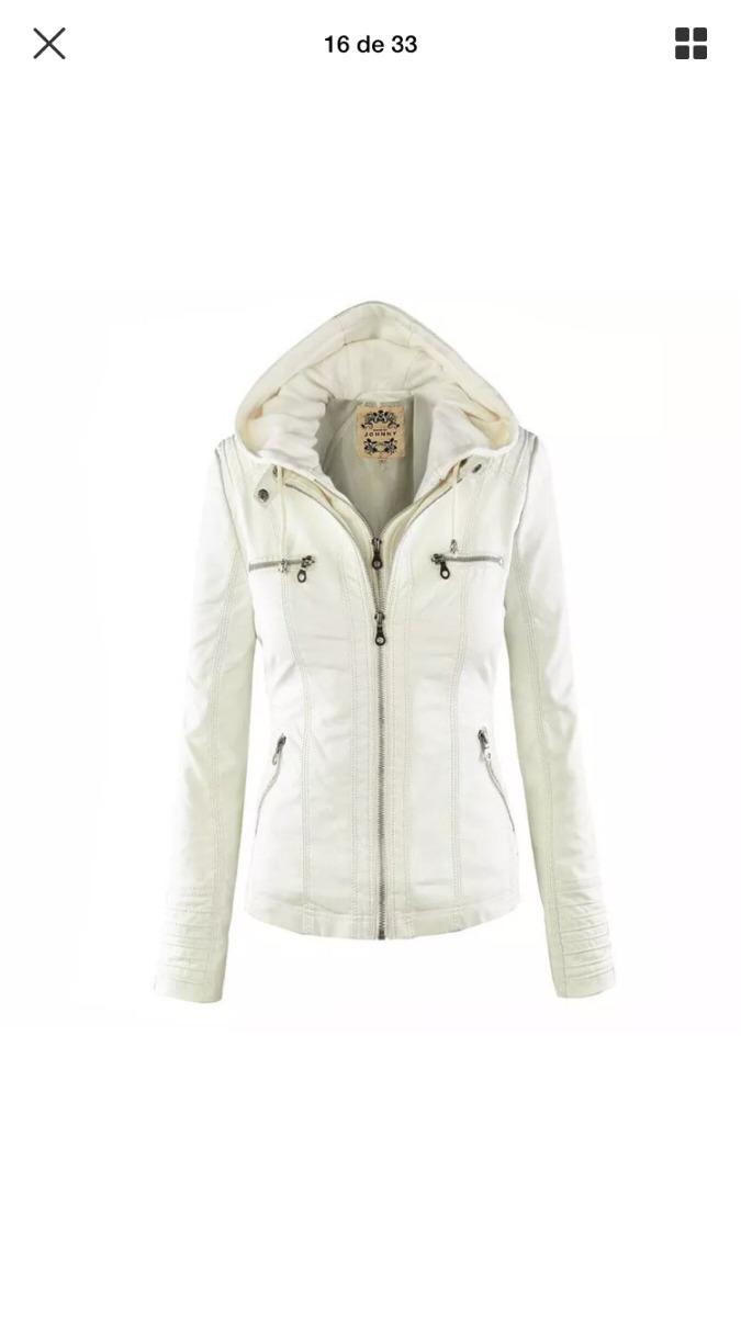 Vendo Padrísima Chaqueta Blanca -   400.00 en Mercado Libre a5a0200e0b52c