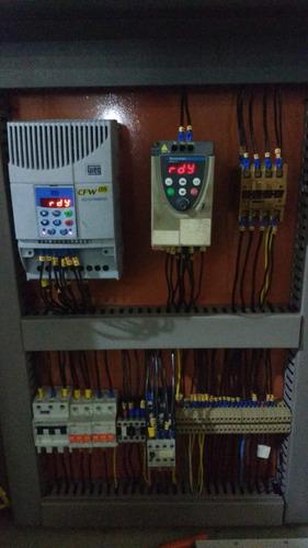 vendo painéis e componentes elétricos para comandos