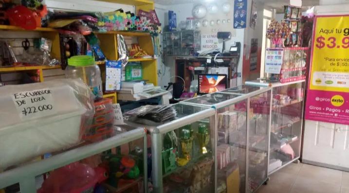 vendo papelería, café internet, heladería y corresponsal