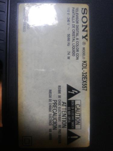 vendo parlantes, botones y cables de televisor sony kdl-32ex