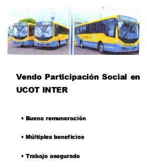 vendo parte (participacion social ucot-inter)