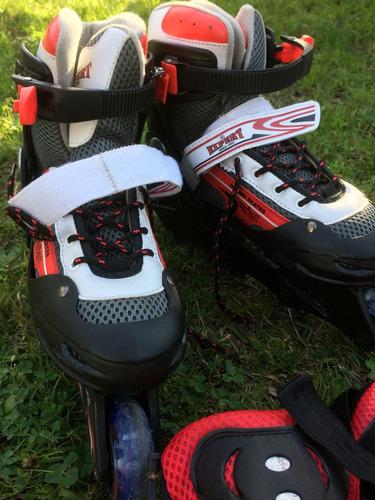 vendo patines en hilera, gran oportunidad !