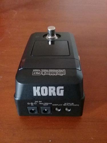 vendo pedal afinador korg pitchblack poly nuevo