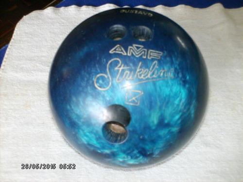vendo pelota de bowling amf, strikeline, 10 lbs.