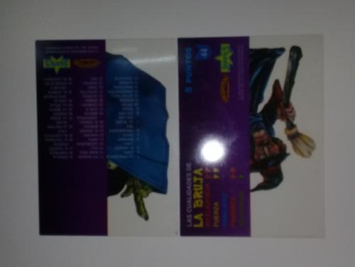 vendo pequeño lote de tarjetas de monstruos de bolsillo 1994