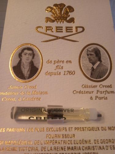 vendo perfumeros creed 100% original