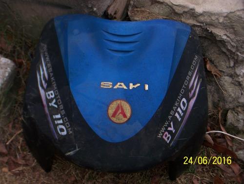 vendo-permuto careta o escudo de moto pollerita asaki 110