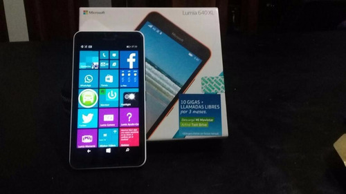 vendo / permuto microsoft lumia 640 xl movistar impecable