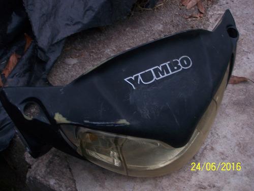 vendo-permuto otro carenado con faro delantero de yumbo 110