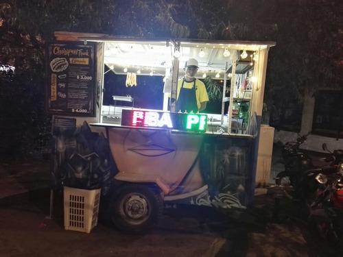 vendo permuto trailer de comidas rápidas