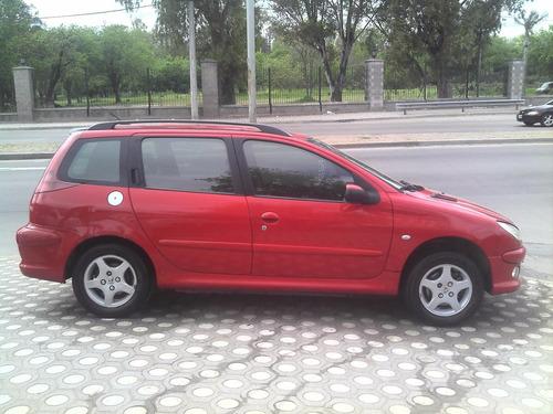 vendo peugeot 206 sw xt premiun 2006 km 193000 gnc 5ta !!!!
