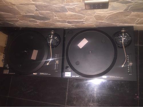 vendo platos technics sl 1210 mk2