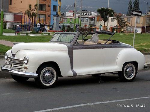 vendo plymouth 46 convertible  old car for sale classic
