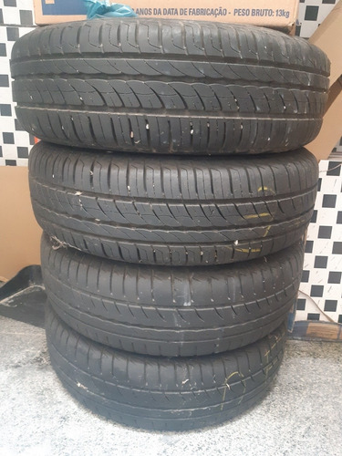 vendo pneus aro 13 com roda de ferro,marca pirelli